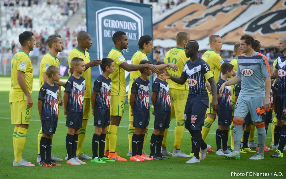 FC Nantes : Bordeaux / FC Nantes : Les 1ères images de la rencontre