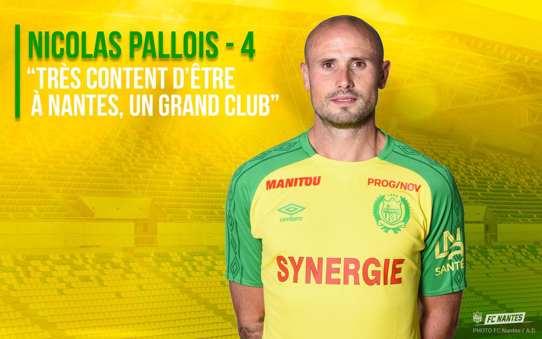 Un contrat de trois ans pour Nicolas Pallois
