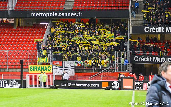 Déplacement pour Rennes - FC Nantes