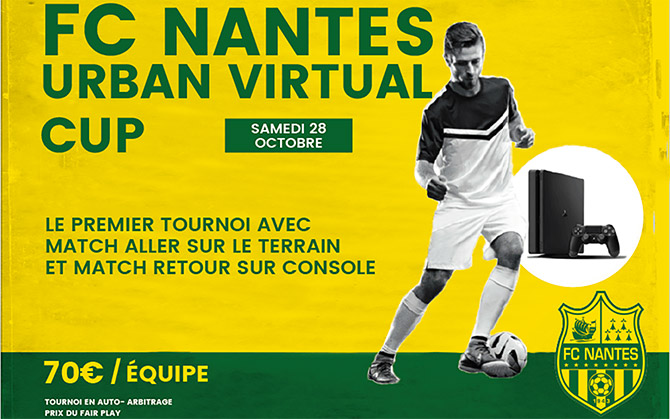 La FC Nantes Urban Virtual Cup !