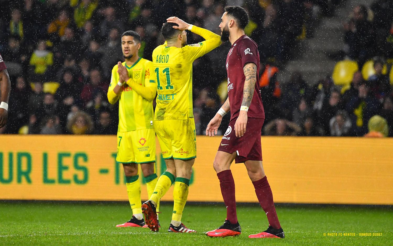 FC Nantes - FC Metz (0-0) - Le FC Nantes et Metz dos � dos