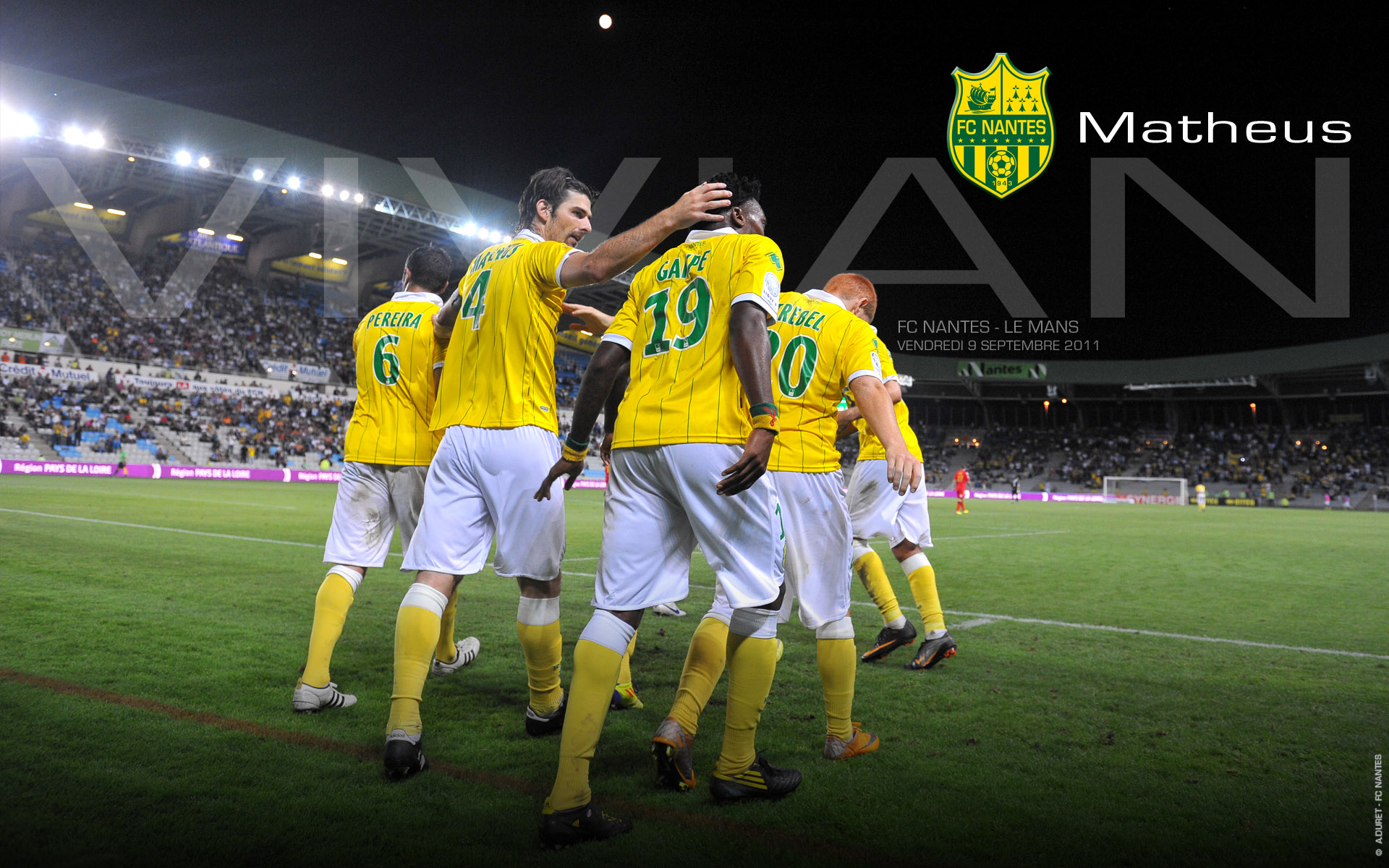 fc nantes site officiel du football club de nantes. Black Bedroom Furniture Sets. Home Design Ideas
