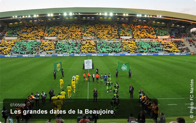 Les grandes dates de la beaujoire for Salon de la beaujoire